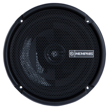 "Memphis Audio PRXS60  Power Reference Series 6.5"" 2-Ohm Oversized Shallow 2-Way Speakers With Swivel Tweeters"