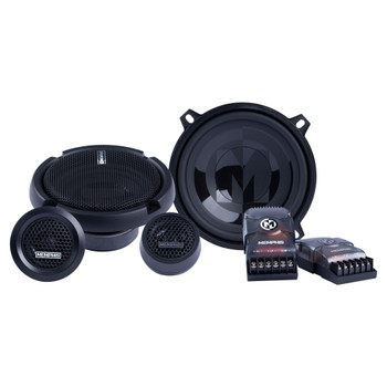 """Memphis Audio PRX50C Power Reference Series 5.25"""" Component Speakers With 1"""" Tweeters - Pair"""