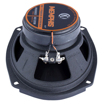 """Memphis Audio PRX6903 Power Reference Series 6x9"""" 3-Way Coaxial Speakers With Swivel Tweeters - Pair"""