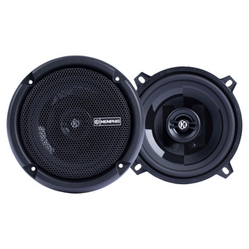 """Memphis Audio PRX5 Power Reference Series 5.25"""" 2-Way Coaxial Speakers With Swivel Tweeters - Pair"""