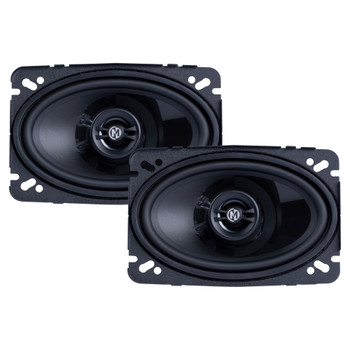 """Memphis Audio PRX46 Power Reference Series 4x 6"""" 2-Way Coaxial Speakers With Swivel Tweeters - Pair"""