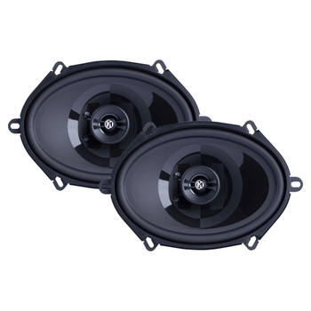 "Memphis Audio PRX57 Power Reference Series 5x7"" 2-Way Coaxial Speakers With Swivel Tweeters - Pair"