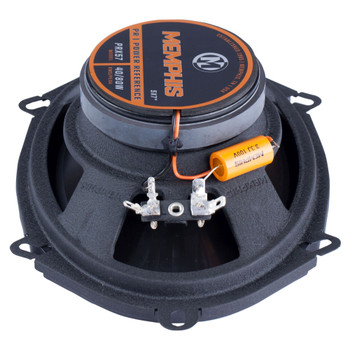"""Memphis Audio PRX57 Power Reference Series 5x7"""" 2-Way Coaxial Speakers With Swivel Tweeters - Pair"""