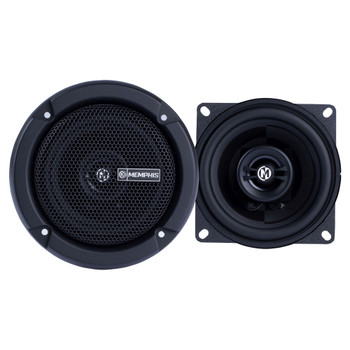 """Memphis Audio PRX4 Power Reference Series 4"""" 2-Way Coaxial Speakers With Swivel Tweeters - Pair"""
