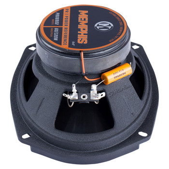 """Memphis Audio PRX6902 Power Reference Series 6x9"""" 2-Way Coaxial Speakers With Swivel Tweeters - Pair"""
