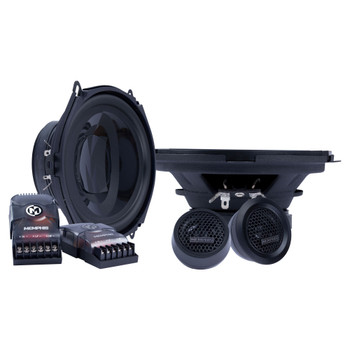 "Memphis Audio PRX570C Power Reference Series 5x7"" Component Speakers With 1"" Tweeters - Pair"