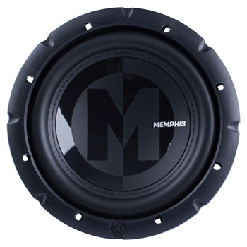 """Memphis Audio 15-PRX8S4 8"""" Power Reference Single 4-Ohm Subwoofer - 200 wRMS"""