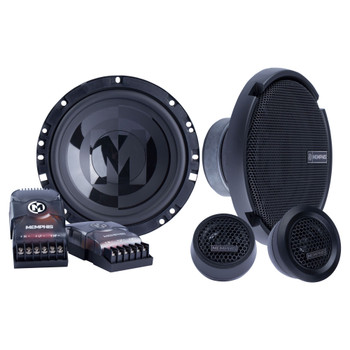 """Memphis Audio PRX60C Power Reference Series 6.5"""" Oversize Component Speakers With 1"""" Tweeters - Pair"""