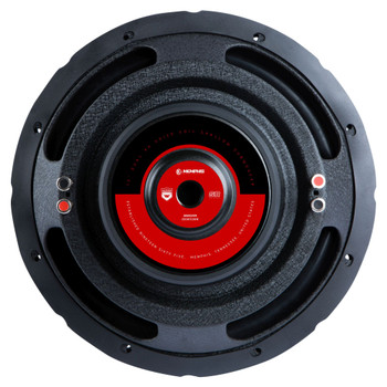 """Memphis Audio SRXS1244 12"""" Street Reference Dual 4-Ohm Shallow Mount Subwoofer - 250 wRMS"""