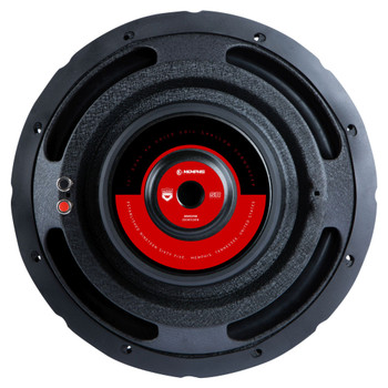 """Memphis Audio SRXS1240 12"""" Street Reference Single 4-Ohm Shallow Mount Subwoofer - 250 wRMS"""
