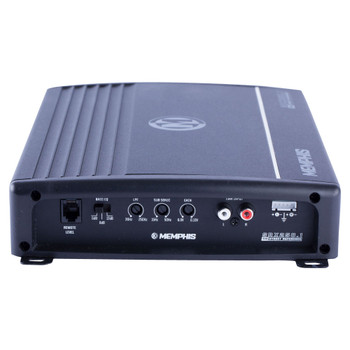 Memphis Audio SRX250.1 Street Reference Series Mono Subwoofer Amplifier 250 Watts RMS x 1 at 2-Ohms