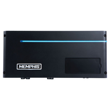 Memphis Audio PRXA1500.1 Power Reference Series Mono Subwoofer Amplifier, 1500 Watts RMS x 1 at 1-Ohm