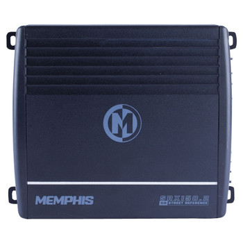 Memphis Audio SRX150.2 Street Reference Series 2-Channel Amplifier - 75 x 2 RMS at 2-Ohms