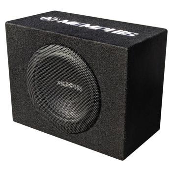"""Memphis Audio SRX10SP 120W RMS Amplified 10"""" Box"""