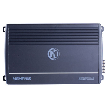 Memphis Audio SRX300.4 Street Reference Series 4-Channel Amplifier - 75 x 4 RMS at 2-Ohms