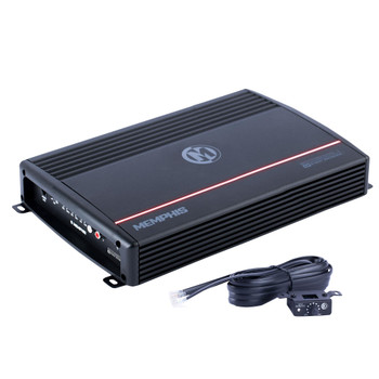 Memphis Audio SRX1200D.1 Street Reference Series Mono Subwoofer Amplifier 1200 Watts RMS x 1 at 1-Ohm