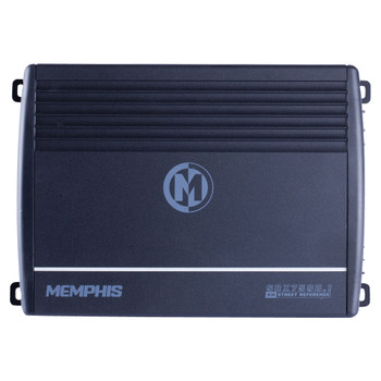 Memphis Audio SRX750D.1 Street Reference Series Mono Subwoofer Amplifier 750 Watts RMS x 1 at 2-Ohms