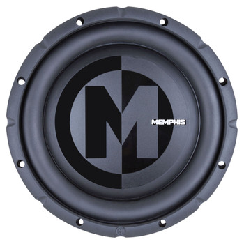 "Memphis Audio PRXS1044 10"" Power Reference Dual 4-Ohm Shallow Mount Subwoofer - 350 wRMS"