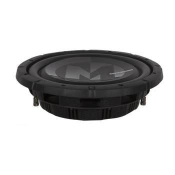 """Memphis Audio PRXS1044 10"""" Power Reference Dual 4-Ohm Shallow Mount Subwoofer - 350 wRMS"""