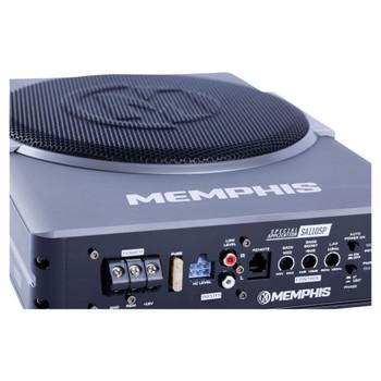 """Memphis Audio SA110SPD Powered 10"""" Nanobox Class-D Underseat Subwoofer System"""