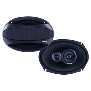 """Memphis Audio SRX693 Street Reference Series 6x9"""" 3-Way Coaxial Speakers - Pair"""