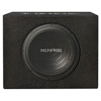 "Memphis Audio SRX08SP 120W RMS Amplified 8"" Box"