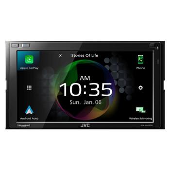 JVC KW-M865BW - Digital AV Receiver Works with Wireless CarPlay, Wireless Android Auto, 4-Camera Inputs