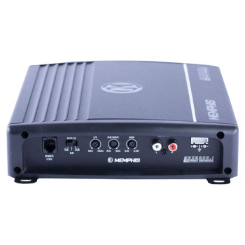 Memphis Audio SRX500D.1 Street Reference Series Mono Subwoofer Amplifier 500 Watts RMS x 1 at 2-Ohms