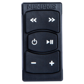 Memphis Audio MXABTRK Rocker Switch Bluetooth Receiver And Controller w/Aux and USB
