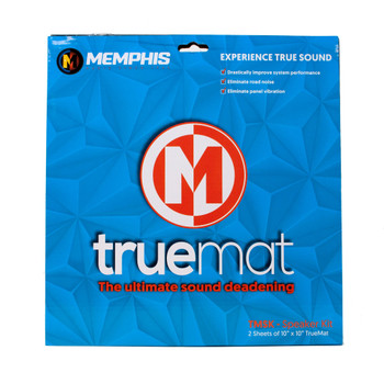 "Memphis Audio TMSK MOJO Mat Speaker Kit - Two 10"" x 10"" Sheets"