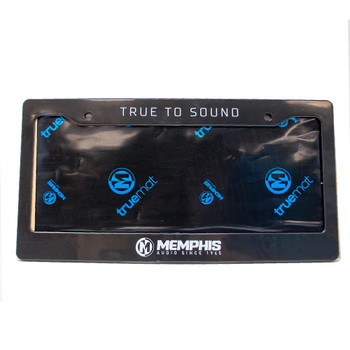 Memphis Audio TMLP MOJO Mat License Plate Kit - Includes Frame/Mat