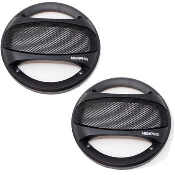 """Memphis Audio SRXG62 6.5"""" Street Reference Series Grilles for SRX62 Coaxial Speakers"""