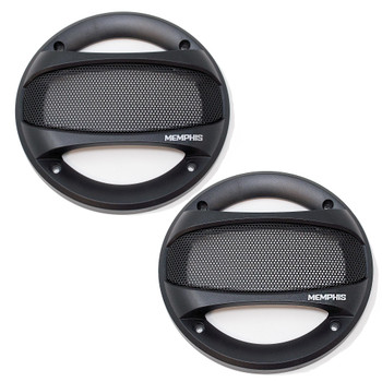 """Memphis Audio SRXG52 5.25"""" Street Reference Series Grilles for SRX52 Coaxial Speakers"""