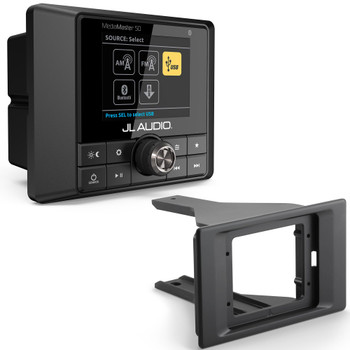 JL Audio SBA-POL-RZG2-DK-MM50 with MM50 Mediamaster Receiver for 2014-Up Polaris RZR 4 900, 900XC, XP 1000 & XP4 1000