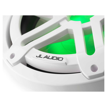 "JL Audio M3-10IB-S-Gw-i-4 - M3 10"" 4-Ohm Infinite Baffle Marine Subwoofer - LED Gloss White Sport Grille - Open Box"