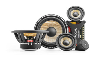 """Focal PS165F3 FLAX 6.5"""" 3-way component kit, RMS: 80W - MAX: 160W - Used, Very Good"""