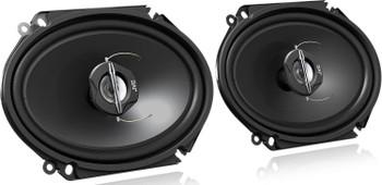 """JVC CSJ6820 250W 6x8"""" 2-Way J Series Coaxial Car Speakers (Pair) - Used, Very Good"""