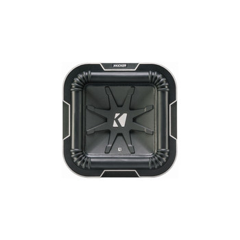 Kicker L78 Q-Class 8-Inch (20cm) Square Subwoofer, Dual Voice Coil 2-Ohm - Like New