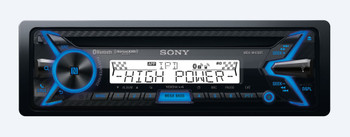 Sony MEX-M100BT CD Receiver with BLUETOOTH and Two CPS SRC2 Wired Marine Remotes for Sony Radios