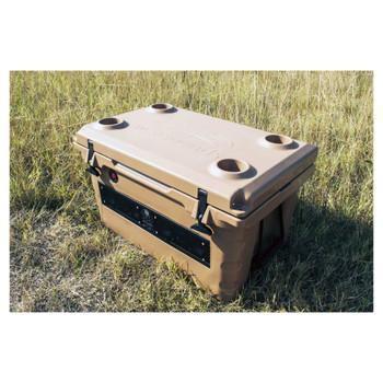 Wet Sounds REFURBISHED Stealth SHIVR55 High Output Audio Cooler Speaker System - Brown