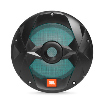 JBL MS10LB Marine 10 Inch Black Subwoofer with RGB LEDs - 4-Ohm