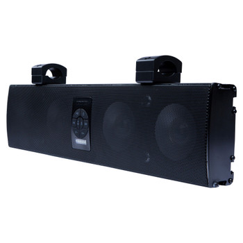 "Memphis Audio MXA46SB28 Powersports 28"" App Controlled Overhead Soundbar With Bluetooth and RGB LED"