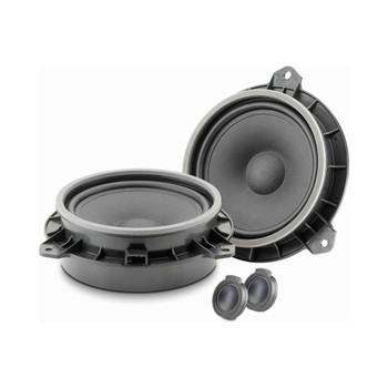 "Focal ISTOY165 Integration Series 2-Way 6.5"" Component Speaker Kit for Toyota"