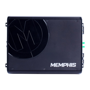Memphis Audio PRX500.1 Refurbished Power Reference mono subwoofer amplifier — 500 watts RMS x 1 at 1 ohm