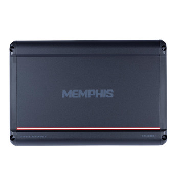 Memphis Audio SRX1200D.1 Refurbished Street Reference mono subwoofer amplifier — 1,200 watts RMS x 1 at 1 ohm
