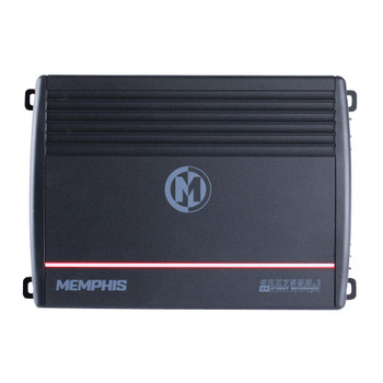Memphis Audio SRX750D.1 Refurbished Street Reference mono subwoofer amplifier — 750 watts RMS x 1 at 2 ohms
