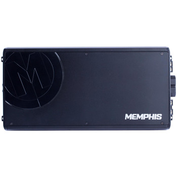 Memphis Audio RE-PRX1500.1 Refurbished Power Reference mono subwoofer amplifier — 1,500 watts RMS x 1 at 1 ohm