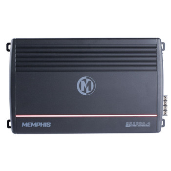 Memphis Audio SRX300.4 Refurbished Street Reference 4-channel car amplifier — 50 watts RMS x 4