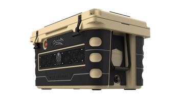 Wet Sounds Stealth SHIVR-55-TAN Tan High Output Audio Cooler Speaker System & Gator Step Kit