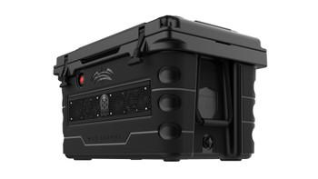 Wet Sounds Stealth SHIVR-55-BLK Black High Output Audio Cooler Speaker System & Gator Step Kit